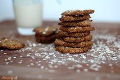 Recept: Krokante havermout gember koekjes! (suikervrij) - fitbeauty.nl