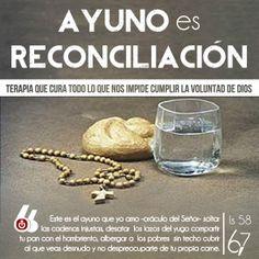 CUARESMA: Ayuno es Reconciliación.