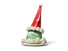 Check out Lahoma Gayle Richey post on Name This Dish Santa Ice Cream Treat