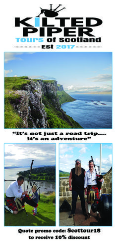 Enjoy a fantastic day/multi day Highland Tour from Glasgow, savouring some of the worlds most breathtaking scenery.