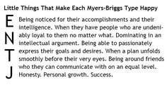 Little Things That Make Each Myers-Briggs Type Happy - ENTJ