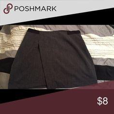 Skirt Forever 21 grey and black skirt Forever 21 Skirts Mini