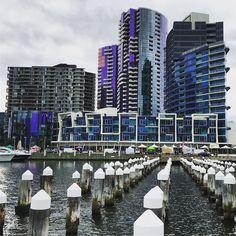Loving the high-tech #architecture at #Melbourne's #Docklands. #skyscraper #building #tower #modern #contemporary #travel #tourism #tourist #leisure #life #culture #VIC #IgersMelbourne #IgersAustralia #Australia #Victoria #IgersVIC #urban #city #cityscape #water #purple
