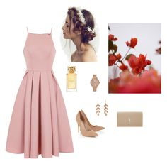 """""""Flowers"""" by mariem-sghaier ❤ liked on Polyvore featuring Lipsy, Chi Chi, Irene Neuwirth, Aéropostale, Tory Burch, GUINEVERE, Yves Saint Laurent and lovenewchic"""