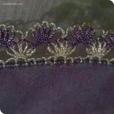 Gaziantep İğne Oyaları - İğne Oyası ve El Örgüsü Modelleri Crochet Unique, Maquillaje Halloween, Knit Shoes, Needle Lace, Lace Making, Knitted Shawls, Baby Knitting Patterns, Knitting Socks, Hand Embroidery