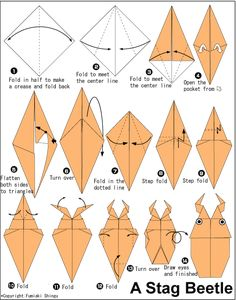 Complex Origami Rose Instructions