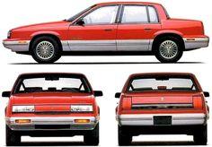 Oldsmobile Cutlass Calais 4-Door (1991)