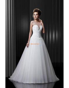 Plage / Destination Princesse Traîne moyenne Robes de mariée 2014