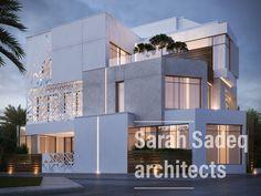 400 m private villa Kuwait Sarah Sadeq architects