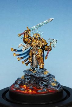 """Stormcast Lord by Darren """"razza"""" Latham · Putty&Paint"""