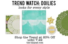 Trend Watch: Doilies | The Lilypad Blog