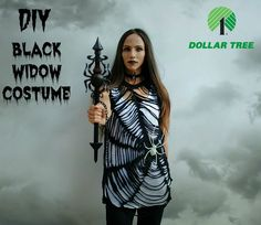 This is my third and final costume for A Dollar Tree Halloween Series in collaboration with Dollar Tree.  I had so much fun doing this and will have to continue this theme each year. The possibilities