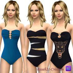 Temps d'été swimsuit and Sobre chic dress at Les Contes d'Helena via Sims 4 Updates  Check more at http://sims4updates.net/clothing/temps-dete-swimsuit-and-sobre-chic-dress-at-les-contes-dhelena/