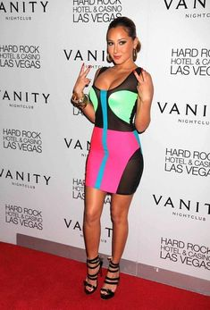 Poshly exhilarating Adrienne Bailon ...  Select Beauty...   Aside from her work in 3LW and The Cheetah Girls, Bailon has went on to have her own acting career.