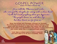 Gospel Power OT 5C – Tuesday