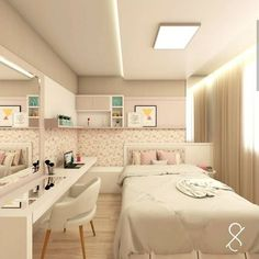 Childrens-room – Best Home Decoration Room Design Bedroom, Girl Bedroom Designs, Small Room Bedroom, Room Ideas Bedroom, Bedroom Decor, Teen Bedroom, Cute Room Decor, Aesthetic Room Decor, Dream Rooms