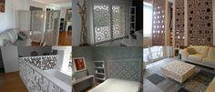 Inspirations de claustras Home And Deco, Sliding Doors, Diy And Crafts, Divider, Decoration, Arabesque, Screens, Overlays, Gate