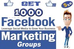 give you list of 1000 Facebook Groups for marketing and traffi... by miko_seo
