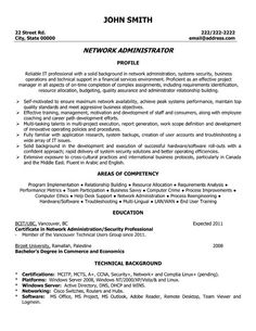 cover letter for network administrator job - it systems administrator cover letter example job