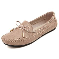 80f92528d8dbad SOSUSHOE Womens Casual Slim Narrow Loafers Slip On Flats Driving Walking  Casual Moccasins Shoes  Loafers   Slip