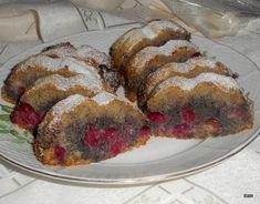 Mákos-meggyes őzgerincben sütve