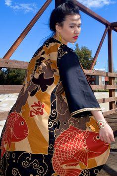 Japanese inspired kimono I made.