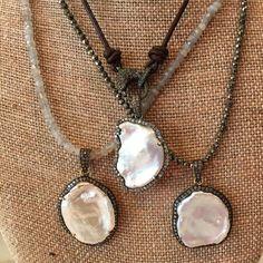Options  #cindyensordesigns #cindyensor #jewelry #diamond #necklace #pearl…