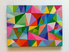 geometric art illustration inspiration colour tumblr
