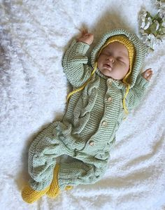 Knitted baby clothes Baby knit romper Baby knitted clothes