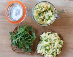 A simple egg salad sandwich that can cure your lunch time cravings and provide nutrient-dense offerings for your midday needs.