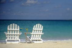 Need a romantic vacation? We've got two chairs just for you.