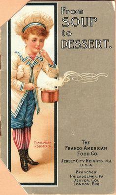 Franco American Food--vintage cookbook