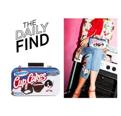 """Daily Find: Alice + Olivia Clutch"" by polyvore-editorial ❤ liked on Polyvore featuring DailyFind"