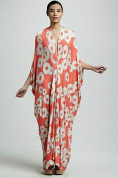 Hone Your Hostess Style With Our Rx For Party-Perfect Attire #refinery29  http://www.refinery29.com/hostess-outfits#slide10  Rachel Pally Gwyneth Caftan Maxi Dress, $295, available at Neiman Marcus.