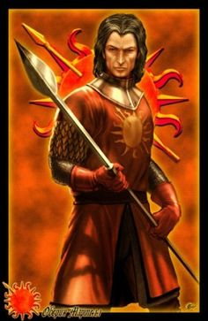 Prince Oberyn Nymeros Martell, known as the Red Viper, was Doran's hot-headed younger brother. He has eight bastard daughters, called the Sand Snakes, the four youngest of which by his current paramour Ellaria Sand. Some rumors hold that he is bisexual