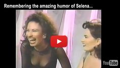Rare footage of Selena's amazing humor and laugh! This is how I would like to remember Selena Quintanilla!  Watch Video --> www.somexican.com/view/Video/2993