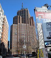 Image 3 of 12 from gallery of 8 Influential Art Deco Skyscrapers by Ralph Thomas Walker. Photograph by Wikipedia user Jim Henderson Lower Manhattan, Manhattan Bridge, Brooklyn Bridge, World Trade Center, Wall Street, Times Square, New York Buildings, Skyline, New York City Travel