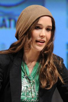 """Ellen Page.. """"I'm here today because I am gay. And because maybe I can make a difference. To help others have an easier and more hopeful time. Regardless, for me, I feel a personal obligation and a social responsibility,"""" the 26-year-old actress shared during a Time to THRIVE conference."""