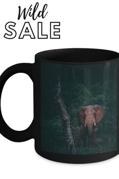 for all the beautiful people that love these majestic creatures, pick one up today #animalcoffeemug Pick One, Coffee Cups, Beautiful People, Elephant, Creatures, Ceramics, Mugs, Tableware, Unique
