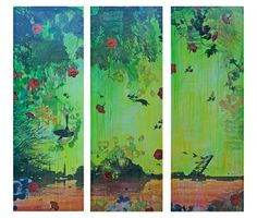 """""""East Side Triptych"""" Its got a nice... toxic quality about it."""