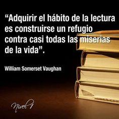 Un libro, un refugio. www.quelibroleo.com