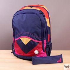 Plecak szkolny Roxy Charger Laguna Chevron  / www.brandsplanet.pl / #roxy