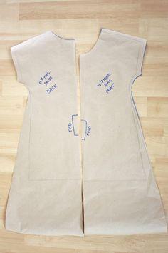 Zaaberry: Girls Tunic Dress - TUTORIAL
