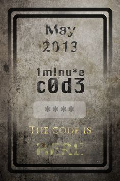 1 minute Code has just arrived! The code is … HERE! As you may already know, 1 Minute Code(or 1mCode) is an app for iOS and Android that consist on unlocking 99 codes. Each one, in less than one minute, or you will have to wait until the next day …