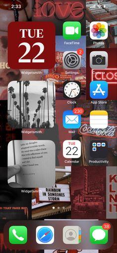 Iphone Wallpaper Grunge, Iphone Background Wallpaper, Aesthetic Iphone Wallpaper, Iphone Home Screen Layout, Iphone App Layout, Design Ios, Iphone Design, Iphone Life Hacks, Ios Phone
