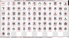 Wallpaper Kanji Training Grade 1 1080p by palinus on DeviantArt