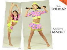 HOLIDAY - HANNET costume danza saggio