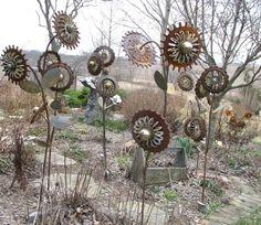 Rusty Flower Garden