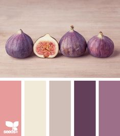 fig tones by {design seeds} - room color palette for Alyssa Colour Pallette, Color Palate, Colour Schemes, Color Combos, Color Patterns, Pink Palette, Color Trends, Design Seeds, Colour Board