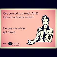 I'm attracted to guys who have these qualities, especially driving a truck. I find that really attractive for some reason, idek.